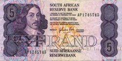 5 Rand AFRIQUE DU SUD  1981 P.119c TTB
