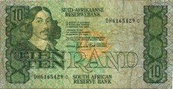 10 Rand AFRIQUE DU SUD  1982 P.120c pr.TB