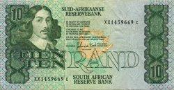 10 Rand AFRIQUE DU SUD  1982 P.120c TTB