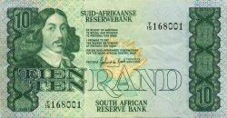 10 Rand AFRIQUE DU SUD  1985 P.120d TTB+