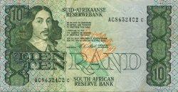 10 Rand AFRIQUE DU SUD  1990 P.120e TTB