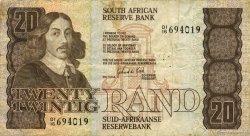 20 Rand AFRIQUE DU SUD  1982 P.121c TB+