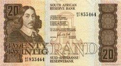 20 Rand AFRIQUE DU SUD  1982 P.121c TTB