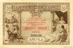 50 Centavos ANGOLA  1923 P.063 TB+