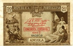 50 Centavos ANGOLA  1923 P.063 TTB