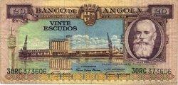 20 Escudos ANGOLA  1956 P.087 pr.TTB