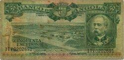 50 Escudos ANGOLA  1956 P.088 B+