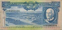 50 Escudos ANGOLA  1962 P.093 TTB