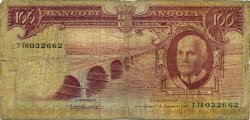 100 Escudos ANGOLA  1962 P.094 B