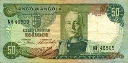 50 Escudos ANGOLA  1972 P.100 TTB