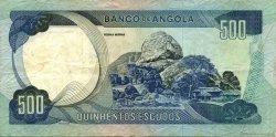 500 Escudos ANGOLA  1972 P.102 TTB