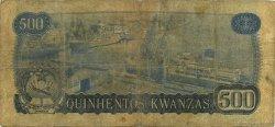500 Kwanzas ANGOLA  1979 P.116 B+