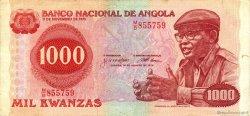 1000 Kwanzas ANGOLA  1979 P.117a TTB+