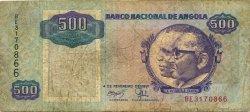 500 Kwanzas ANGOLA  1991 P.128b B+