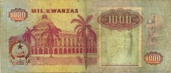 1000 Kwanzas ANGOLA  1991 P.129c TB