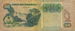 5000 Kwanzas ANGOLA  1991 P.130b TB+