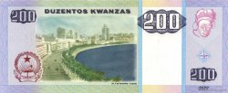 200 Kwanzas ANGOLA  2003 P.148 pr.NEUF