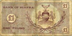 1 Pound BIAFRA  1967 P.02 TB
