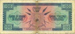 100 Francs BURUNDI  1964 P.12a TB+