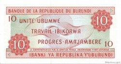 10 Francs BURUNDI  1970 P.20b NEUF