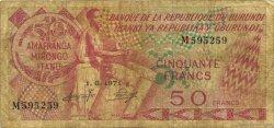 50 Francs BURUNDI  1971 P.22b B