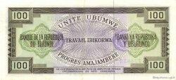 100 Francs BURUNDI  1971 P.23b SPL