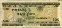 500 Francs BURUNDI  1968 P.24a pr.TB