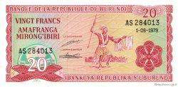 20 Francs BURUNDI  1979 P.27a NEUF