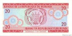 20 Francs BURUNDI  1983 P.27b pr.NEUF