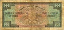 50 Francs BURUNDI  1977 P.28a TB+