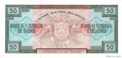 50 Francs BURUNDI  1979 P.28a NEUF