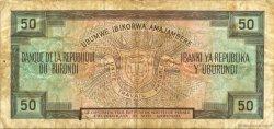 50 Francs BURUNDI  1983 P.28b TB