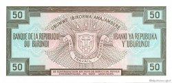 50 Francs BURUNDI  1993 P.28c NEUF