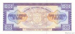 100 Francs BURUNDI  1977 P.29a NEUF