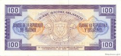 100 Francs BURUNDI  1979 P.29a SUP+