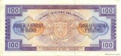 100 Francs BURUNDI  1981 P.29b SUP