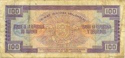 100 Francs BURUNDI  1986 P.29b TB+