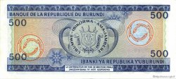 500 Francs BURUNDI  1981 P.30a pr.NEUF