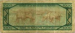 1000 Francs BURUNDI  1984 P.31b TB