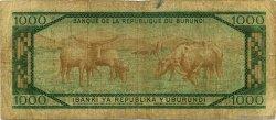 1000 Francs BURUNDI  1987 P.31c B+