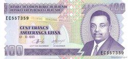 100 Francs BURUNDI  1993 P.37a NEUF