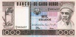 1000 Escudos CAP VERT  1977 P.56a NEUF
