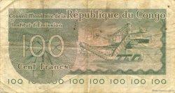 100 Francs CONGO (RÉPUBLIQUE)  1963 P.01a TTB