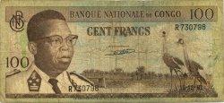 100 Francs CONGO (RÉPUBLIQUE)  1961 P.006a B