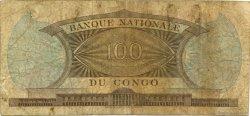 100 Francs CONGO (RÉPUBLIQUE)  1962 P.006a B