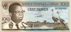 100 Francs CONGO (RÉPUBLIQUE)  1962 P.06a SUP+