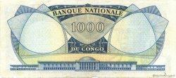 1000 Francs CONGO (RÉPUBLIQUE)  1961 P.008a TB