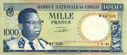 1000 Francs CONGO (RÉPUBLIQUE)  1964 P.008a TTB