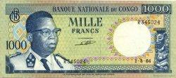 1000 Francs CONGO (RÉPUBLIQUE)  1964 P.08a TTB+