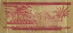 50 Makuta CONGO (RÉPUBLIQUE)  1967 P.11a B+